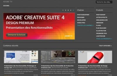 Logiciel : A la découverte des produits d'Adobe en français