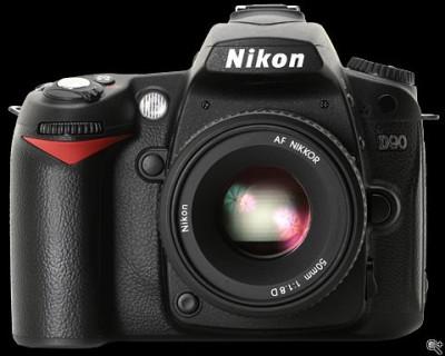 Test : le Nikon D90