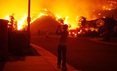 Photos : le cauchemar californien