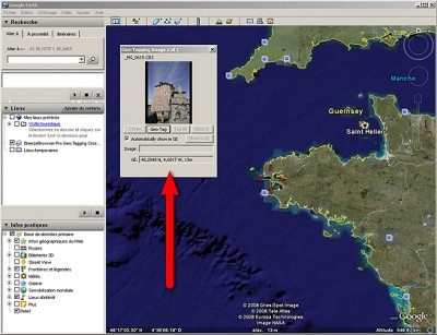 Astuce : la géolocalisation avec Google Earth et Lightroom