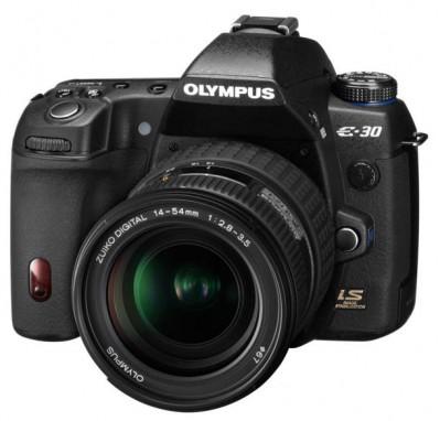 News : présentation de l'Olympus E30