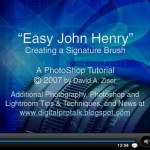 Astuce : sa signature en 1 clic sous Photoshop