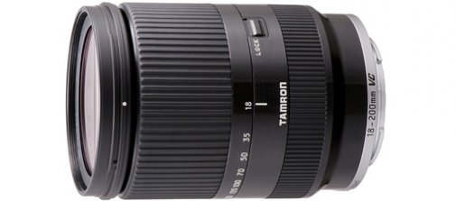 news un tamron 18 200 mm vc pour les sony nex photo geek. Black Bedroom Furniture Sets. Home Design Ideas