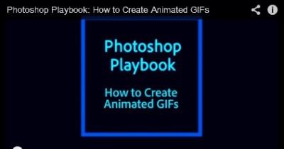 Astuce : créer un GIF animé avec Photoshop