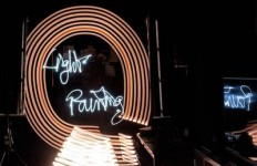 Light-Painting-Technique