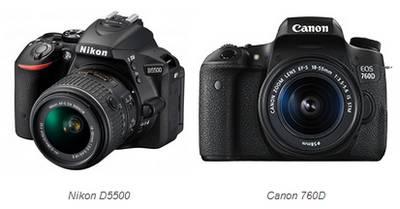 Canon-760D-vs-Nikon-D5500