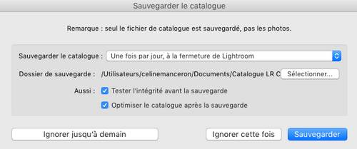 how to move catalogue in lightroom