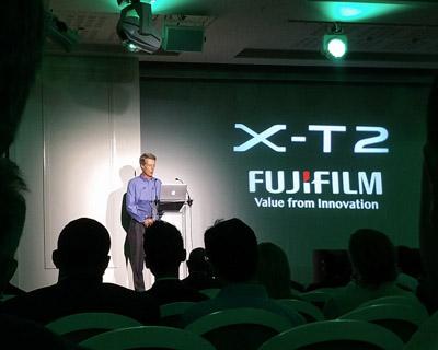 présentation du Fuji X-T2
