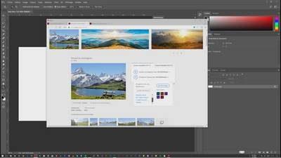 Découverte d'Adobe Stock avec Photoshop