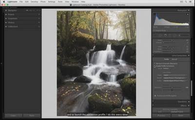 Nature et ambiance automnale avec Lightroom et Photoshop