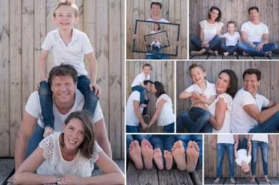 idées de poses photos à réaliser en famille