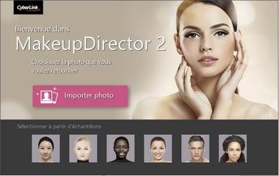 test du logiciel MakeupDirector 2