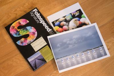 test papiers FineArt Fotospeed