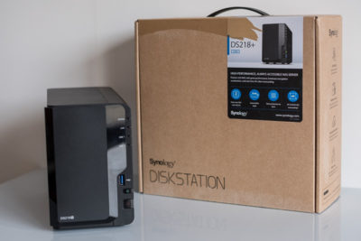 Test NAS Synology DS218+