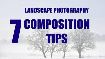 composer votre photo de paysage