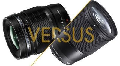 Test Sigma 16mm f/1,4 Contemporary vs Olympus M.Zuiko 17mm f/1,2 Pro