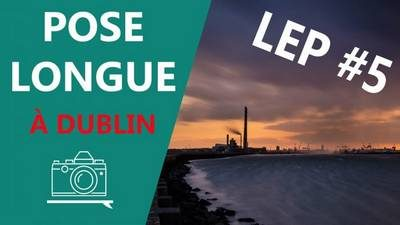 Pose longue dans la baie de Dublin