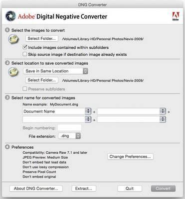 DNG Converter 11