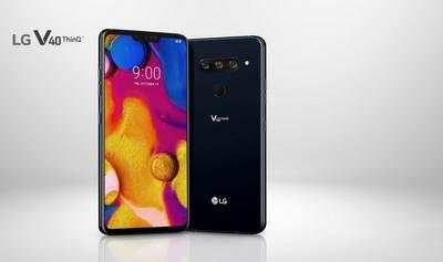 LG dévoile le V40 ThinQ et ses 5 modules photo