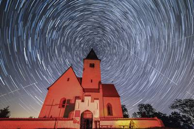 Technique : photographier des trainées d'étoiles