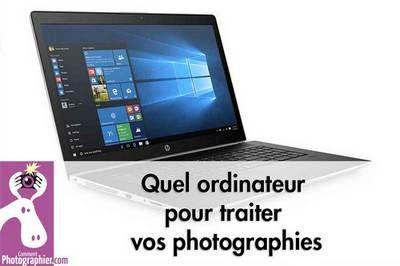 choix ordinateur pour photo