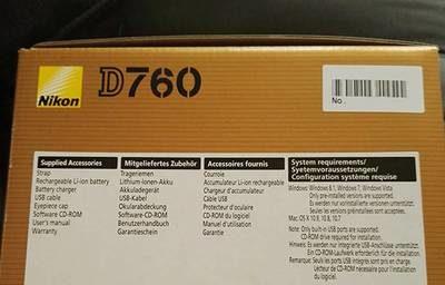 rumeur Nikon D760