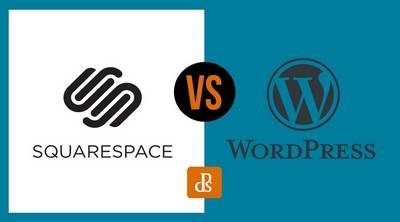 Site web photo : Squarespace vs WordPress