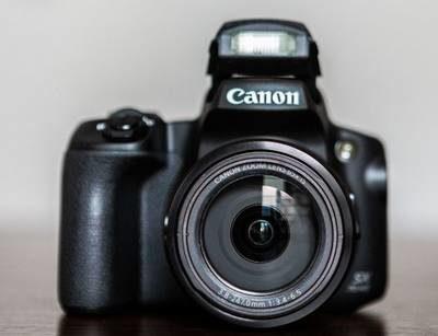 test Canon PowerShot SX70 HS