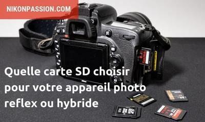 choisir carte SD