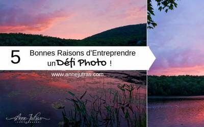 entreprendre un défi photo