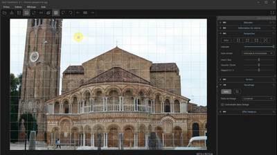 Corrigez géométrie photo