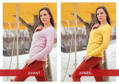 changer la couleur dans Photoshop