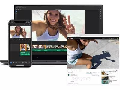 Adobe Premiere Rush dispo sur Android