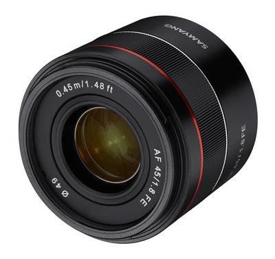 News Samyang AF 45mm f/1,8 FE
