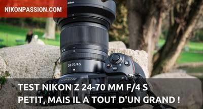 Test Nikon Z 24-70mm f/4 S